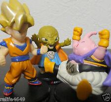 Bandai Dragon Ball deformation figure Goku Majin Boo Bobbidi set