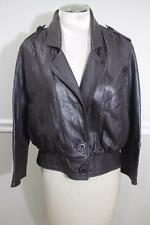 MIKE & CHRIS Women's Brown Leather Jacket SIZE M (CO800