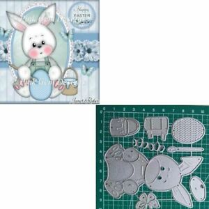 Easter Bunny Painting Cutting Dies Die Cut In Scrapbooking Die Cutting Embossing
