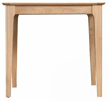 Bergen Light Oak Square Dining Table 85cm x 85cm - Scandinavian Style Retro