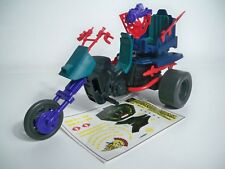 GI Joe Vehicle Dreadnok CYCLE Front Guard /& Handle Bars 1987 Original Part