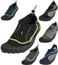 Mens Water Shoes Aqua Socks Surf Yoga Exercise Pool Beach Dance Swim Slip On New