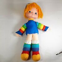 "Vintage 1983 18"" Rainbow Brite Doll Hallmark Cards Inc NO DRESS"