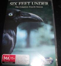 Six Feet Under The Complete Fourth Season 4 (Australia Region 4) DVD - New