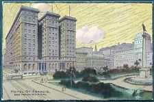 Hotel St. Francis San Francisco California 1909 Postcard