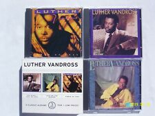 Luther Vandross 3 Pak: Night I Fell / Give Me Reason / Power Love (3 CD Set)