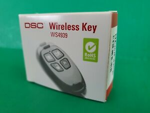 DSC WS4939 4-Button Wireless Key Keyfob Remote