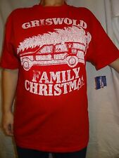 Griswold Family Christmas National Lampoon's Christmas Vacation Red Shirt Size L