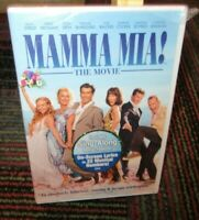MAMMA MIA! THE MOVIE DVD, MERYL STREEP, FRAN WALSH, COLIN FIRTH, SINGLE DISC NEW