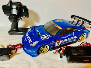Tamiya 1/10 chassis TL-01 full set Body Calsonic Nissan Fairlady Z