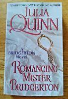 Bridgerton Series Romancing Mister Bridgerton Julia Quinn Book 4 Paperback NEW
