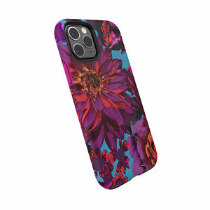 Speck Presidio Inked Floral Case - iPhone 11 Pro/XS/X - Hyerbloom/Lipstick Pink