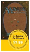 MAGIC THE GATHERING MTG BOOSTER 20 CARD REPACK MTG LOT BOX  | BUY 10 GET 10 FREE