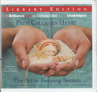 Patti Callahan Henry The Art Of Keeping Secrets 8CD Audio Book Women's Fiction