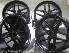 "20"" BLACK SPEEDY ALLOY WHEELS FITS DISCOVERY RANGE ROVER SPORT VW AMAROK T5"