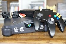 NINTENDO 64 SYSTEM N64 + 1 Controller + All Cables -- Good, Tested, Guaranteed