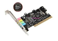 C-Media 5.1 6-Channel 3D Digital Stereo Audio PCI Sound Card CMI8738