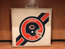 Vintage 80's Chicago BEARS Stadium Bleacher Cushion Seat
