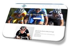 5 Page Website Design Service - Electric Bikes! - Professional Web Design