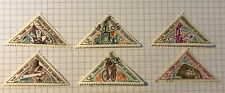 Benin Dahomey Stamps X 9 Used & Mint Hinged