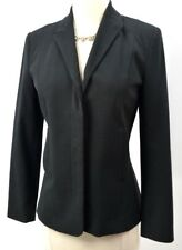 THE Limited blazer suit coat light jacket black all year top Long sleeve XS New