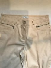 Wallis Women Light Peach Capri Trouser Size10uk