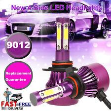 4-Sided 9012 HIR2 1200W 150000LM LED Headlight Kit High Low Beam Bulbs HID White