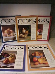 Cooks Illustrated Magazine Lot 5 Magazines
