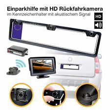Car Pdc Parking Aid with HD Reversing Camera Parking Sensors Number Plate Camera