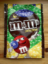 Ltd UK edn M&Ms wrapper bag 2016 Olympic Games Brazil Chocolate Candy sweets
