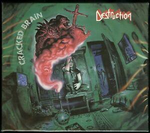 Destruction Cracked Brain CD new 2018 Reissue High roller slipcase