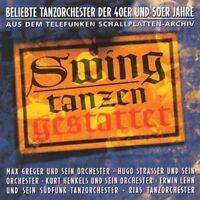 Swing Tanzen gestattet (1948-56/95) Beliebte Tanzorchester der 40er und 5.. [CD]