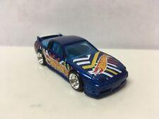 Hot Wheels CUSTOM W/ JDM STYLE REAL RIDERS Blue '96 Nissan 180SX Type X