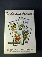 1991 Bon Air State Birds and Flowers Card Set - 50 Cards - Complete
