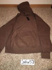 October's Very Own OVO Owl Patch Hoodie Chocolate Brown Drake Size XL w/ receipt