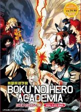 DVD Anime My Hero Academia Season 3 Series (1-25 end) English Audio DUB Region 0