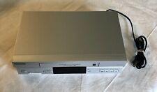 Panasonic Vcr Player Recorder Pv-V4525S 4 Head Hi-Fi Omnivision Stereo No Remote