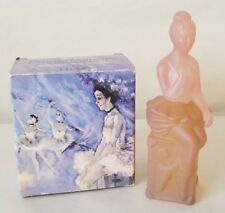 Vintage Avon Pink Prima Ballerina Figurine Zany Cologne Bottle