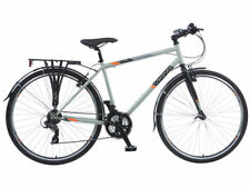 Bicicletas grises de aluminio
