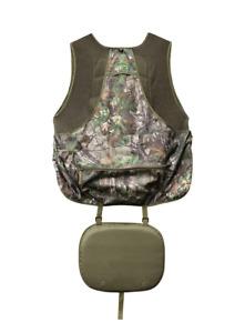 Hunter's Specialties Realtree Xtra Green Camo Turkey Vest with Seat - 2XL/3XL
