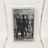 Lou Reed New York Cassette Sire 1989