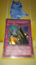 Solemn Judgement DB2 EN073 Super rare Yugioh
