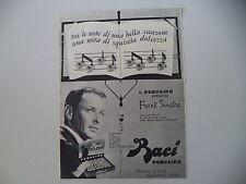 advertising Pubblicità 1962 BACI PERUGINA e FRANK SINATRA