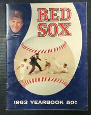 Rare 1963 Boston Red Sox Yearbook Complete  Yaz +