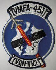 Marine Corps VMFA-451 Flight Jacket Patch - Minty Condition