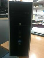 HP Compaq 8200 Elite CMT intel Core i7-2ndGen @3.4GHz 8GB RAM 500HDD Win-10 Pro