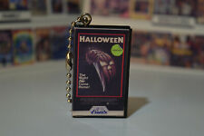Halloween 1978 classic horror movie Blu Ray Vhs Keychain