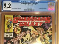 Marvel Comics 1990 GUARDIANS OF THE GALAXY #1 CGC 9.2 Jim Valentino
