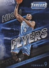 Serge Ibaka 2014-15 Panini Threads High Flyers SUBSET Card Thunder