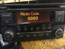 NISSAN QASHQAI CD RADIO BLUETOOTH  CAR STEREO  RADIO CODE